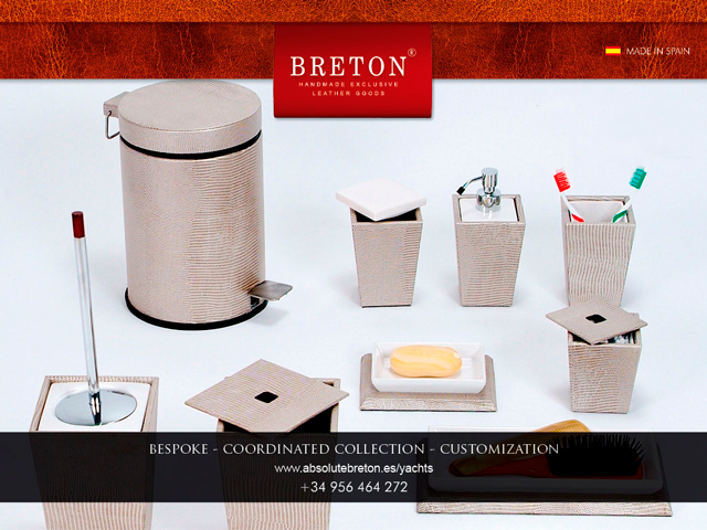 Breton English Leather Bath Accessories