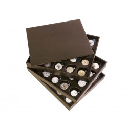 3 Stackable trays for 60 chain watches. Specially designed for collectors