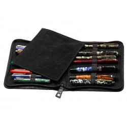 Flexible case for 20 fountain pens