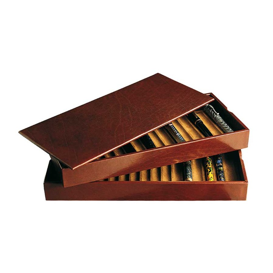 2 Stackable trays for 52 fountain pens