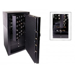 Safety box for 24 watch winders + 5 drawers