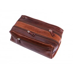 Vanity case for men with 2 compartments
