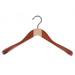 Anatomical hanger with shoulder pads, without bar (without lining)