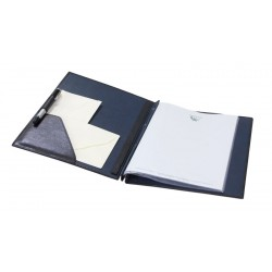 Folder DIN A4 with extensible spine. Interior pocket and pen loop