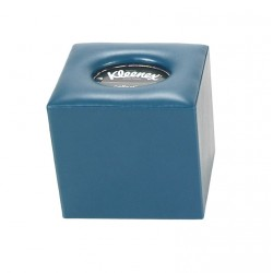 Square tissue box with opening in the base - Smooth lid