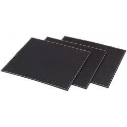 Rigid placemat 30 x 40 cm with folded edges