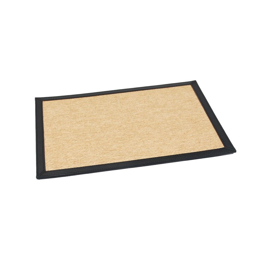 Rigid placemat 20 x 24 cm with folded edges