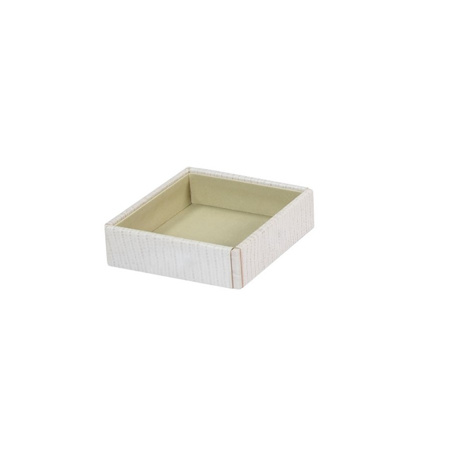 Box with no lid or dividers