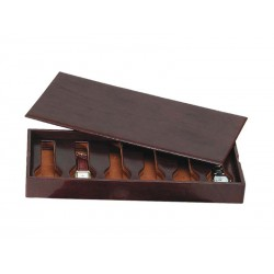 Stackable tray for 6 special flat-lying watches