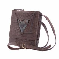 Men's bag with Megalodon tooth