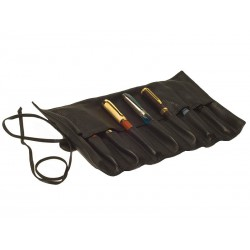 Roll-up travel case for 8 fountain pens