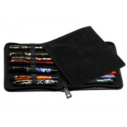 Flexible case for 10 fountain pens
