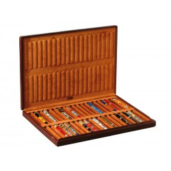 Case for 40 fountain pens on 1 tray