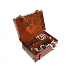 Jewellery box suitcase style for women