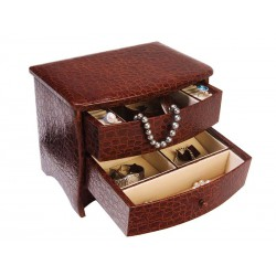 Jewellery case chest of drawers style for women