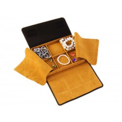Envelope style roll-up case with 6 compartments