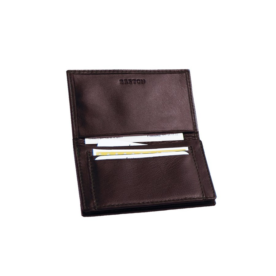 Card holder with 4 expanding compartments
