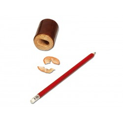 Pencil sharpener with deposit