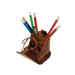 Boot pencil holder