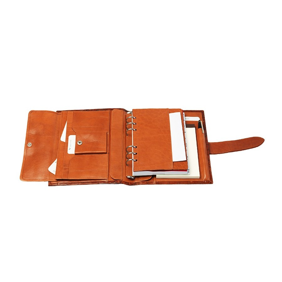 Diary/Journal with interior filing pocket and notepad