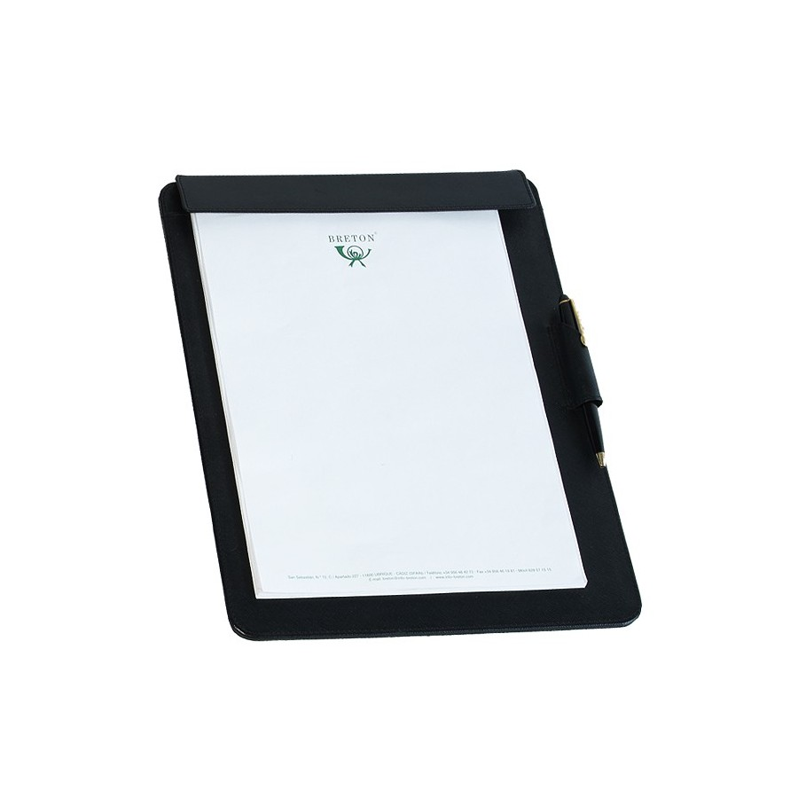 Notepad holder base DIN A4 with pen loop