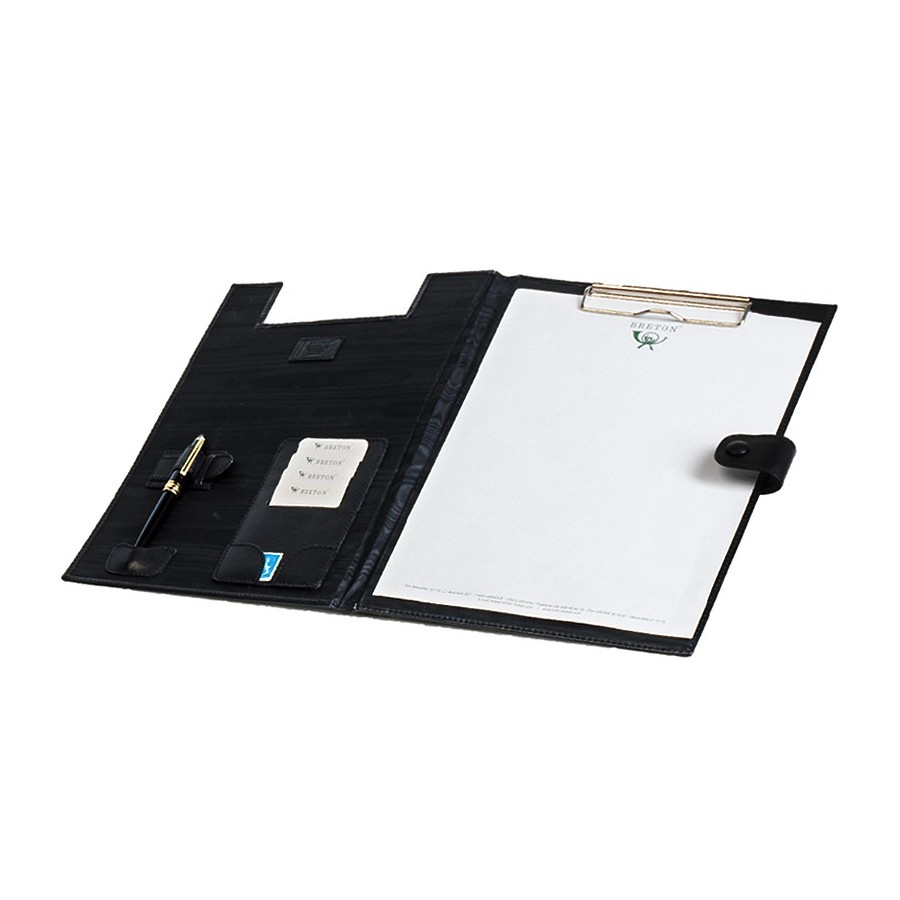 Conference folder with clip and notepad DIN-A4