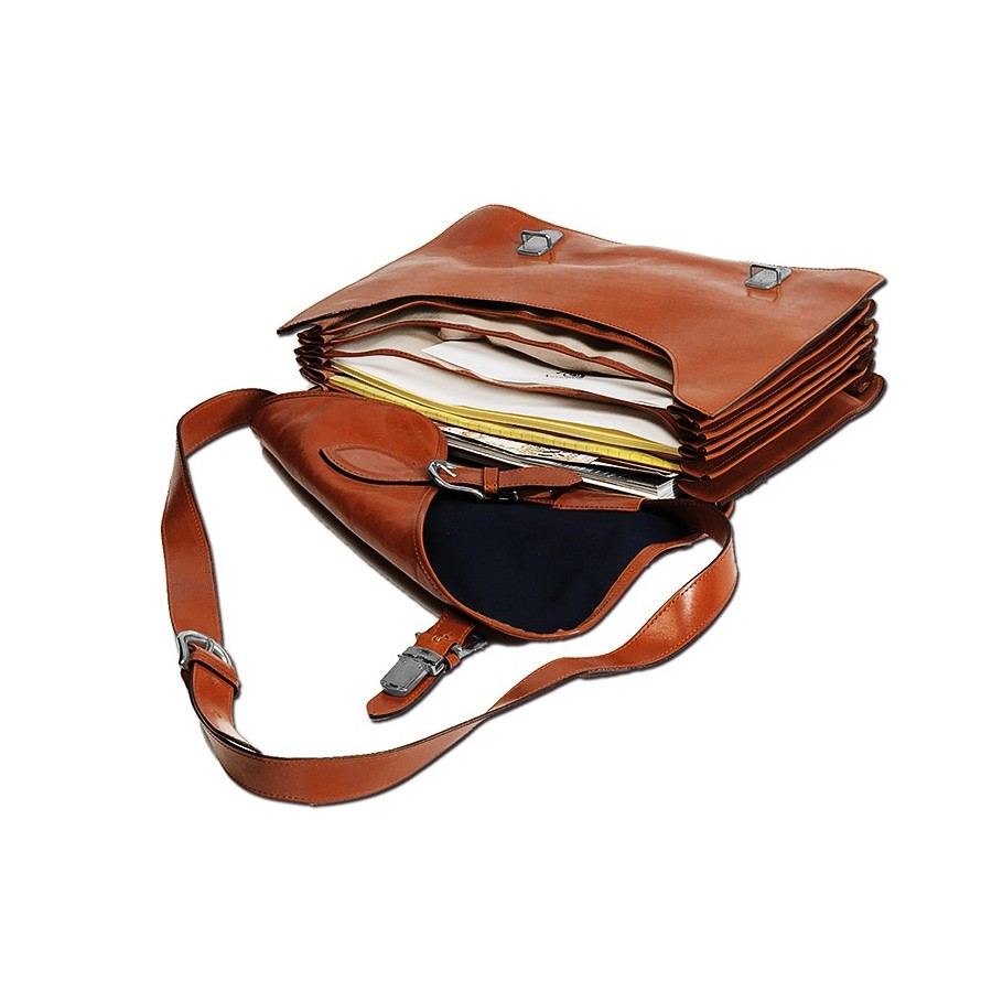 Document briefcase DIN A4 with expanding folders, 6 net compartments