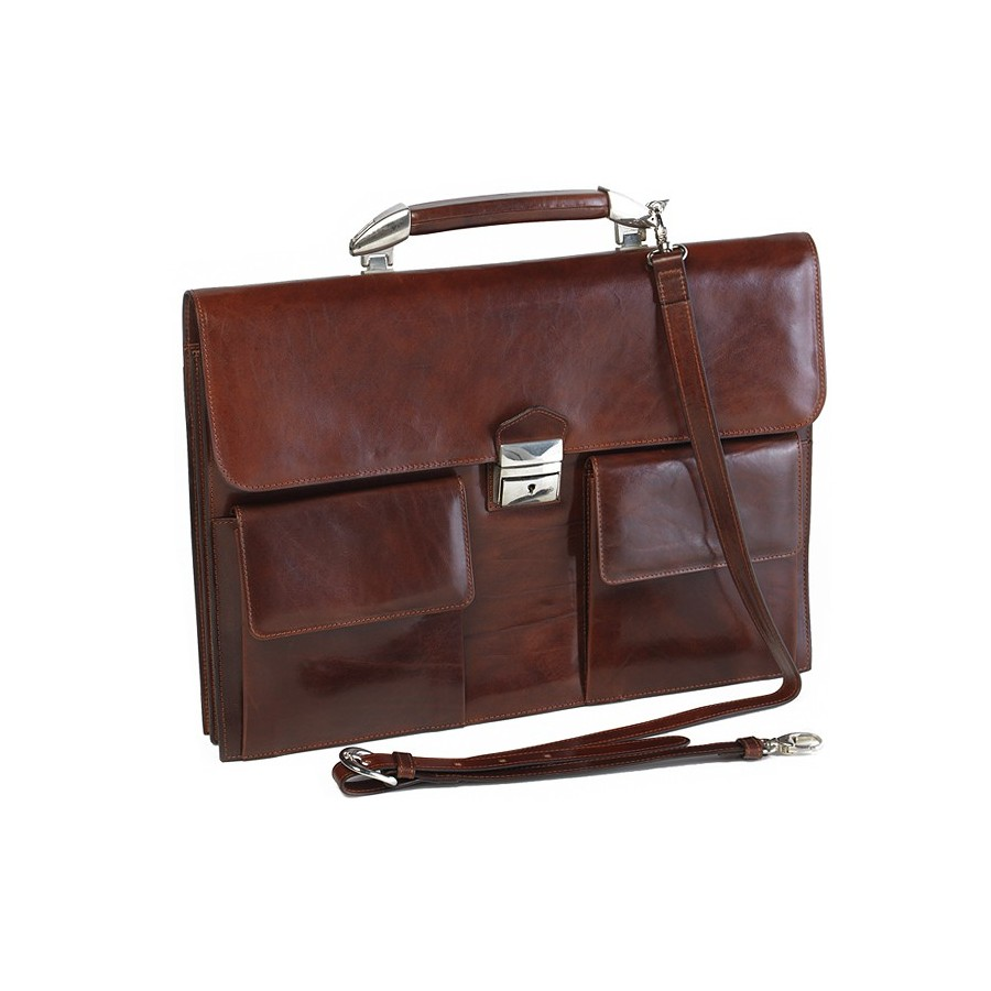 Document briefcase DIN A3 with 2 dividers and safety lock