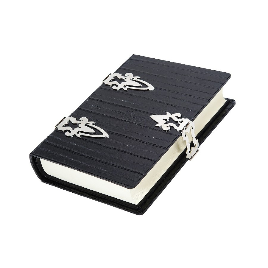 Guestbook with protection cover and double hinge and 365 sheets