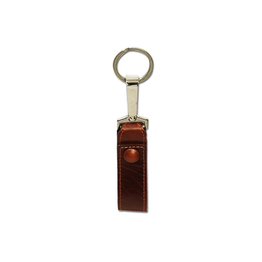 Belt key ring with snap kook and ring (short)