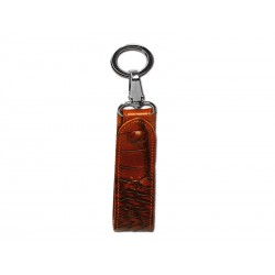 Belt key ring with snap kook and ring (large)