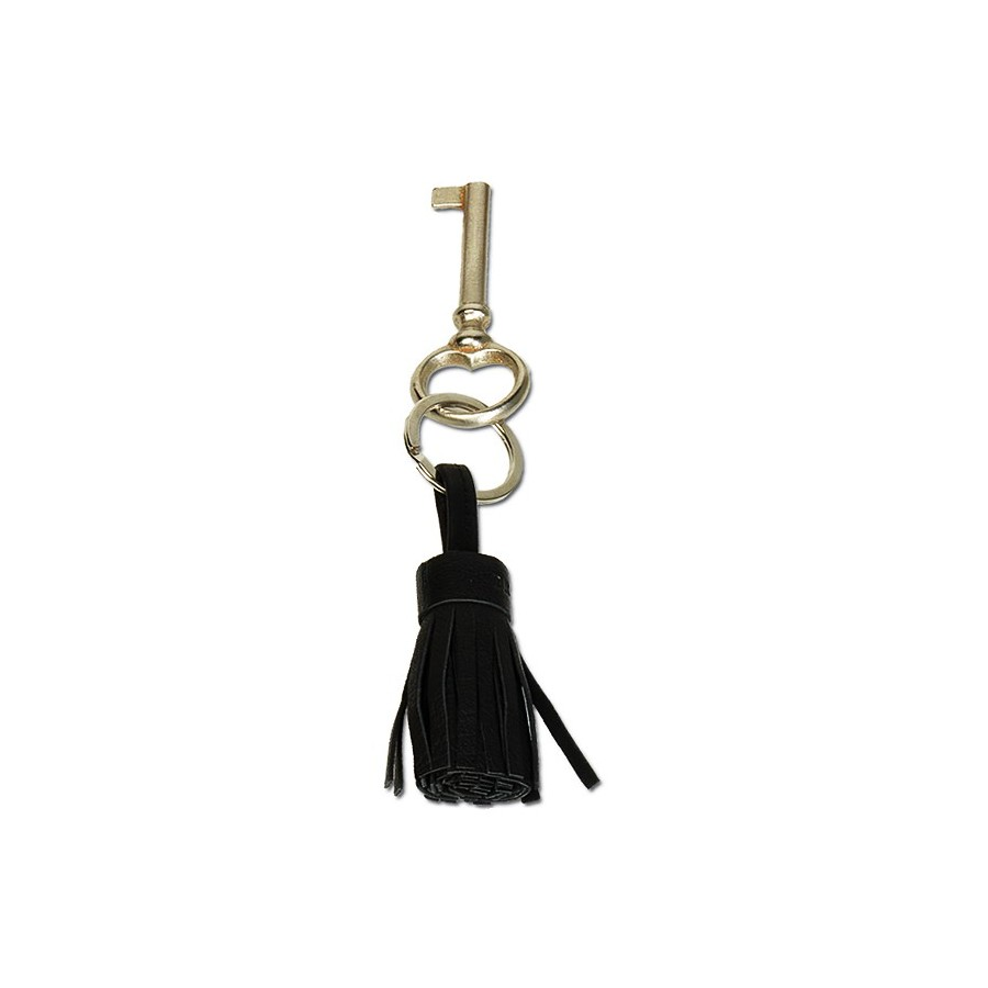 Fringe key ring with 1 ring