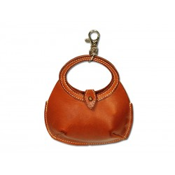 Round purse / handbag key ring
