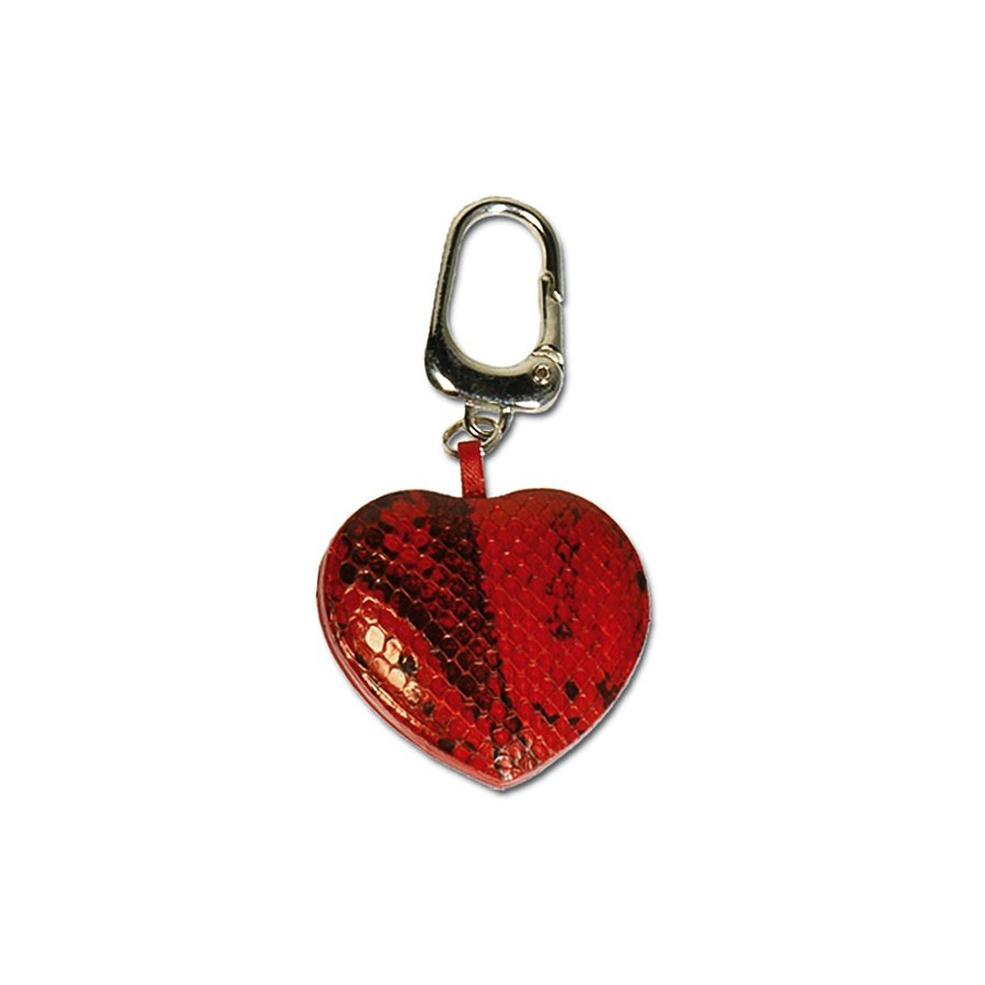 Heart key ring with snap kook