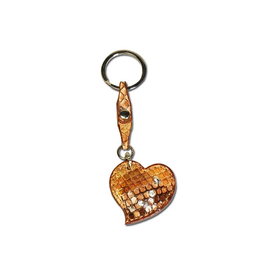 Heart key-ring with ring
