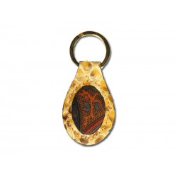 Oval keyring with 1 ring