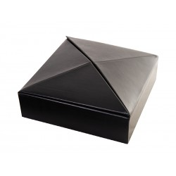 Foldable tabletop box