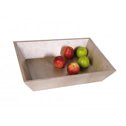 Trapezium-shaped tray
