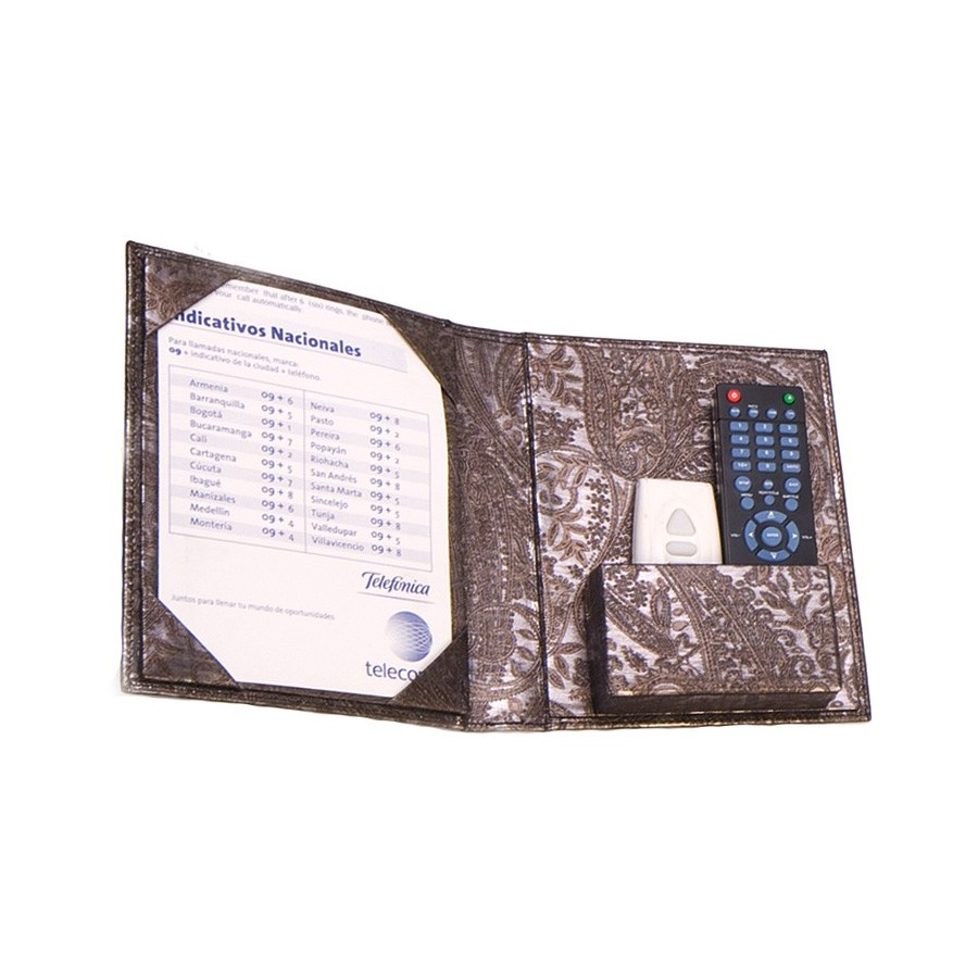 Remote control folder with memo page DIN A5