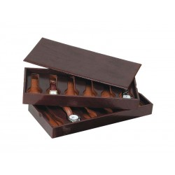 2 Stackable trays for 12 special flat-lying watches