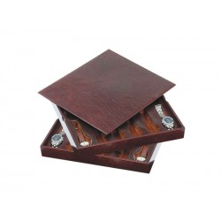 2 Stackable trays for 24 special flat-lying watches