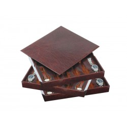 3 Stackable trays for 36 special flat-lying watches