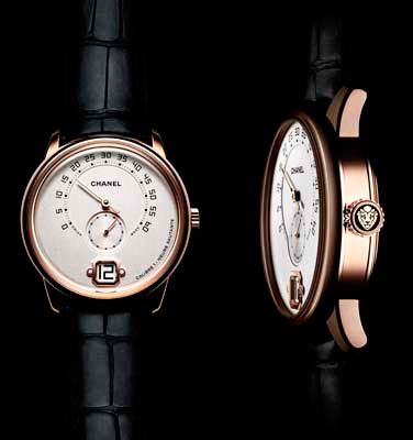 Monsieur Watch, the first watch for men created by Chanel