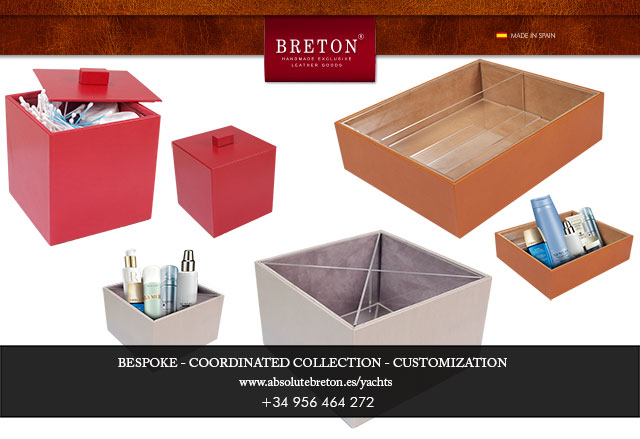 New luxury leather baskets from Absolute Breton