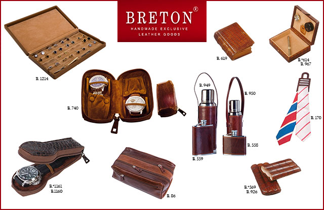 Discover the most original and exclusive leather gifts for Father's Day handmade by Absolute Breton