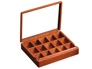 Box for 15 Cufflinks