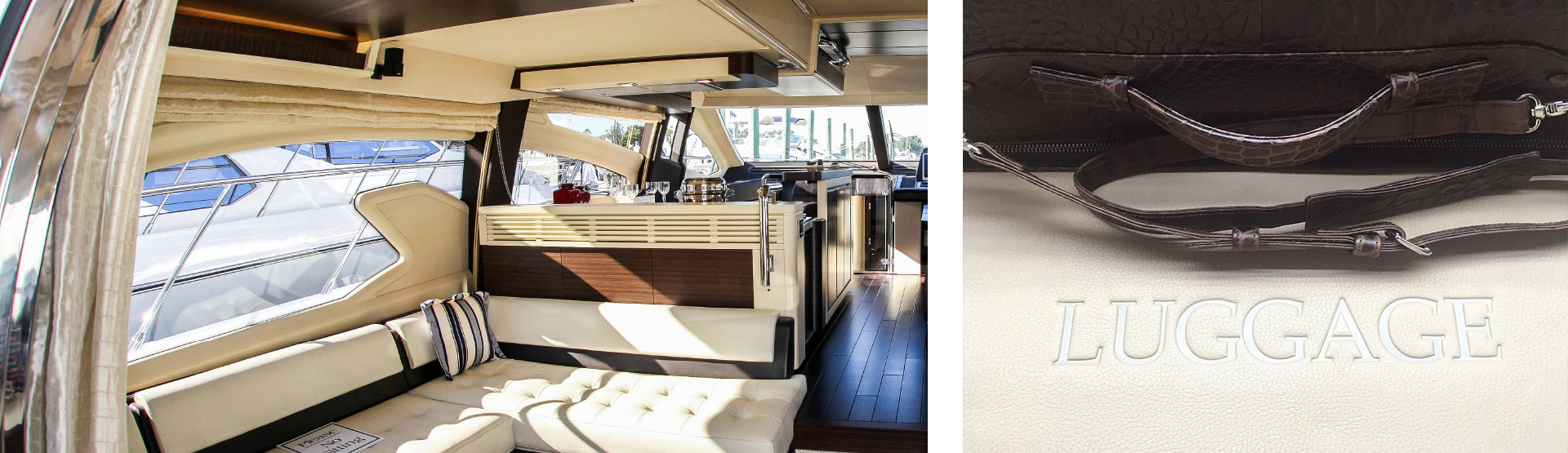 Decoration for yachts and jets