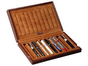Case/Box for Fountain Pens (10 Fountain Pens)