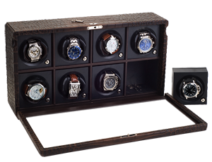 Rotor Case Watch Winder for 8 automatic watches