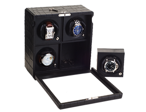 Rotor Case Watch Winder for 4 automatic watches